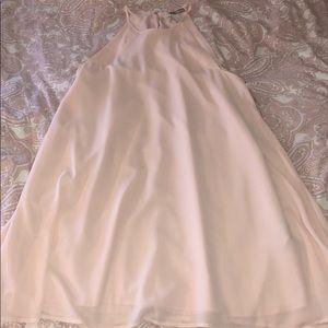 Blush shift dress 👗